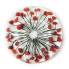 Ceramika i szkło design maki fused glass na prrzystawki prezent art