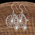 Kolczyki kolczyki,rower,bicykl,ażurowe,oryginalne