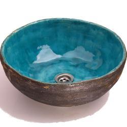 umywalka,ręcznie robiona umywalka,łazienka - Ceramika i szkło - Wyposażenie wnętrz