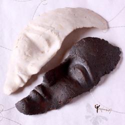 maska,ceramika,unikat,rękodzieło,na ścianę,rzeźba - Ceramika i szkło - Wyposażenie wnętrz