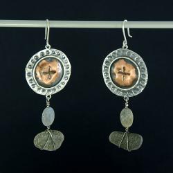 unikat,okazałe kolczyki,danka czapnik,biżuteria - Kolczyki - Biżuteria
