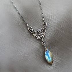 baśniowy,romantyczny,tajemniczy,organiczny - Naszyjniki - Biżuteria