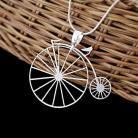 Wisiory wisior,rower,bicykl,ażurowy,nowoczesny