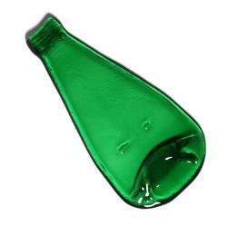 eko design,taca,szklana butelka,prezent - Ceramika i szkło - Wyposażenie wnętrz