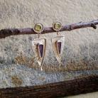 Kolczyki misterne kolczyki,eleganckie,delikatne