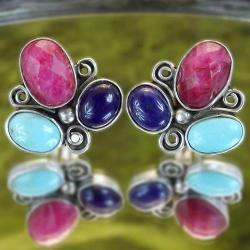 kolorowe klipsy - Klipsy - Biżuteria