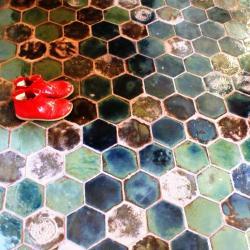 oryginalna podłoga,ciekawe kafle podłogowe - Ceramika i szkło - Wyposażenie wnętrz