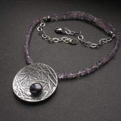 fiann,unikatowy,naszyjnik,biżuteria autorska - Naszyjniki - Biżuteria