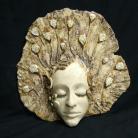Ceramika i szkło maska,twarz,kobieta,ceramika