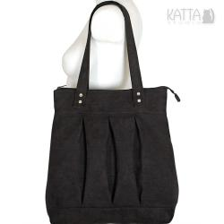 czarna torba,uniwersalna,ponadczasowa,elegancka - Na ramię - Torebki