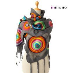 jedwab,wełna,filc,szal,etola,sukienka,sweter - Inne - Dodatki