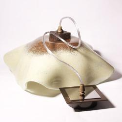 lampa oświetlenie nowoczesna szklana design prezen - Ceramika i szkło - Wyposażenie wnętrz