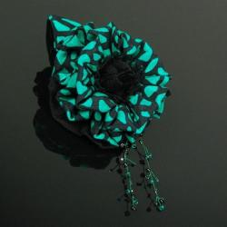 kwiatek,broszka,wyrazista,modna,hit,kobieca, - Broszki - Biżuteria