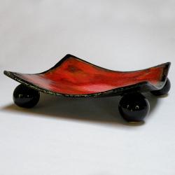 patera ceramiczna,misa,ceramika artystyczna - Ceramika i szkło - Wyposażenie wnętrz