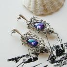 Kolczyki na uszy,srebrne,na prezent,elegancke