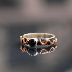 delikatny,subtelny,oryginalny - Pierścionki - Biżuteria