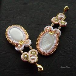 na uszy,na ślub,na imprezę - Kolczyki - Biżuteria