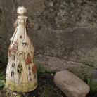 Ceramika i szkło anioł,figurka,lampion