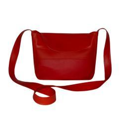 czerwona torebka,czerwień,eko,ekoskóra,ankate - Na ramię - Torebki
