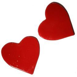 podkladki,serce,walentynki,prezent,design - Ceramika i szkło - Wyposażenie wnętrz