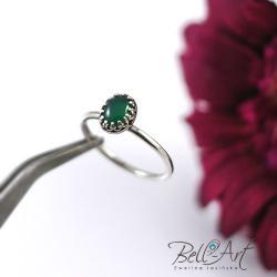delikatny,minimalistyczny,elegancki - Pierścionki - Biżuteria