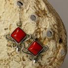 Kolczyki kolczyki,koral,biżuteria damska