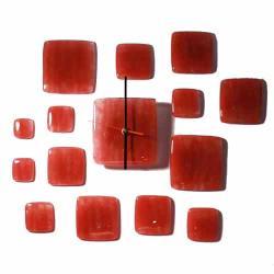 zegar,szklany,designerski,prezent,szkło - Ceramika i szkło - Wyposażenie wnętrz