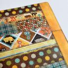 Notesy organizer,kalendarz,notes 2013,patchwork,kot