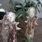 Ceramika i szkło anioł,figurka