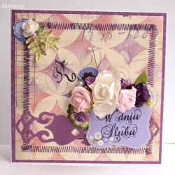 kartka,kartka ślubna - Kartki okolicznościowe - Akcesoria