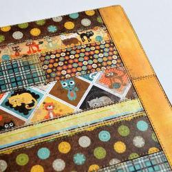 organizer,kalendarz,notes 2013,patchwork,kot - Notesy - Akcesoria