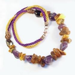 bajeczne,naturalne,ekstrawaganckie - Naszyjniki - Biżuteria
