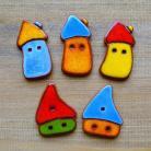 Magnesy na lodówkę domki,magnes,energetyczne,bajkowe,kolorowe