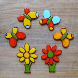 kolorowe,wesołe,energetyczne,dzień matki - Ceramika i szkło - Wyposażenie wnętrz