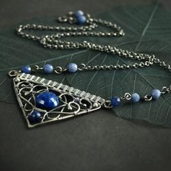 ekskluzywny,orientalny naszyjnik - Naszyjniki - Biżuteria
