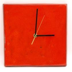 zegar,kafel,ozdoba,prezent,na ścianę - Zegary - Wyposażenie wnętrz