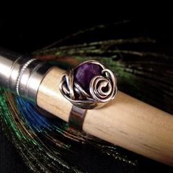 srebro,delikatne,kobiece,romantyczne,eleganckie - Pierścionki - Biżuteria