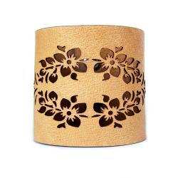 wzór,wycinanka,modna,delikatna,ażur,kwiaty - Bransoletki - Biżuteria