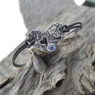 Bransoletki motyl,ksenia,art clay silver