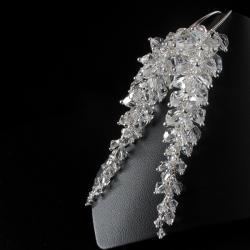 długie,okazałe kolczyki swarovski - Kolczyki - Biżuteria