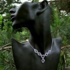 Naszyjniki naszyjnik ślubny Swarovski Crystal srebro
