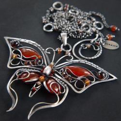 ekskluzywny,bogaty,wire-wrapping,elegancki - Naszyjniki - Biżuteria