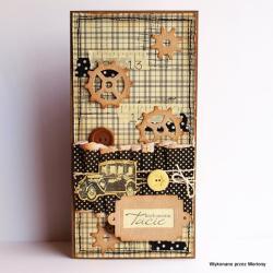 kartka,kartka dla taty,kartka na dzień ojca - Kartki okolicznościowe - Akcesoria