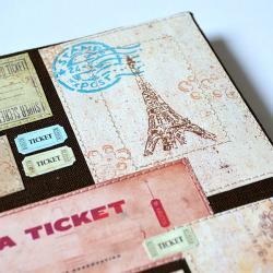 kalendarz ksiażkowy 2013,notes,paryż,eiffla - Notesy - Akcesoria
