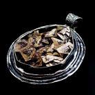 Wisiory masywny,ciężki niespotykany bizmut w srebrze