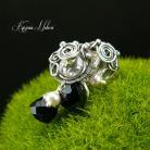 Kolczyki delikatne,na sztyfcie,nehesi,z perłami