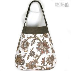ornamety,orientalny wzór,na lato,summer bag - Na ramię - Torebki