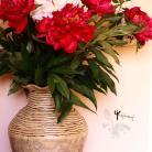 Ceramika i szkło wazon,na kwiaty,unikat,ceramika,rękodzieło