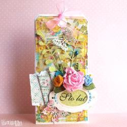 kartka,kartka urodzinowa,kartka imieninowa - Kartki okolicznościowe - Akcesoria