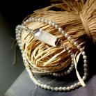 Naszyjniki srebro,delikatne,kobiece,perły,vintage,retro